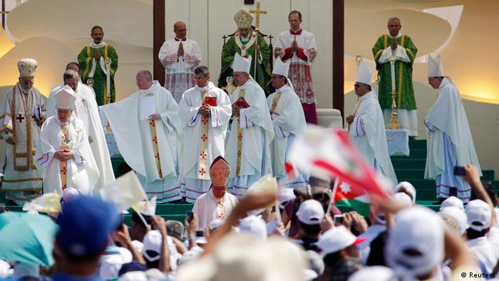 Papstmesse in Beirut (Foto. Reuters)