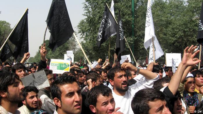 Антиамериканские выступления в Кабуле