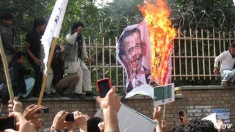 Manifestação anti-americana em Cabul