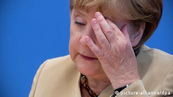 Angela Merkel, chanceler alemã, é a favor do diálogo