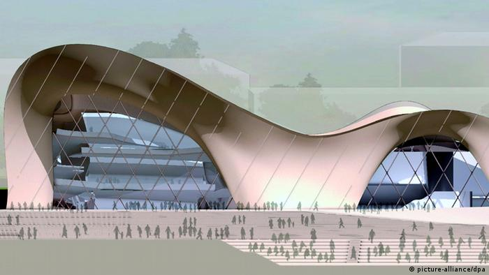 A design proposal for Bonn's new concert hall by Hermann & Valentiny