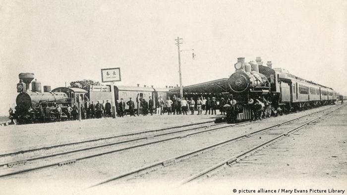 Bildergalerie chinesisch-japanische Beziehungen Südmandschurische Eisenbahn