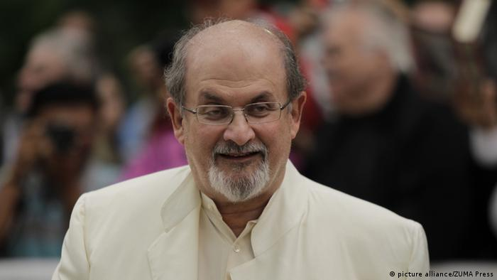 Salman Rushdie attends the red carpet gala for 'Midnight's Children' at Roy Thompson Hall during the 2012 Toronto International Film Festival