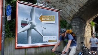 Noch ist die Windenergie eine Wachstumsbranche in Deutschland: Bleibt sie das? Fotograf: Gero Rueter