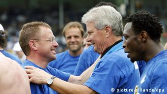 Fußball Bundesliga Ralf Rangnick Trainer TSG 1899 Hoffenheim und Dietmar Hopp