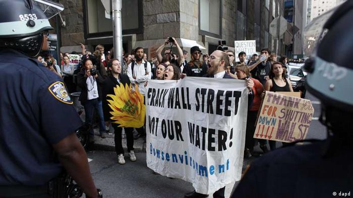 Occupy Demonstration New York