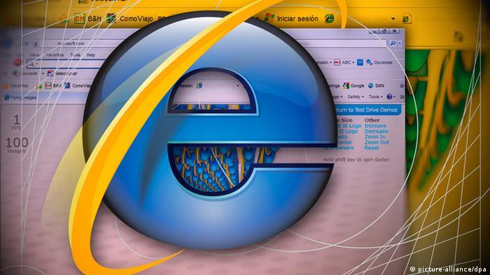 Символ браузера Internet Explorer