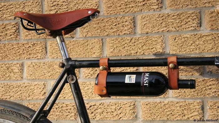 Fahrrad Weinflaschen-Halterung