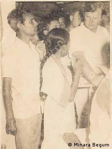 Freiheitskämpferin Minara Begum Jhunu und Edward M. Kennedy