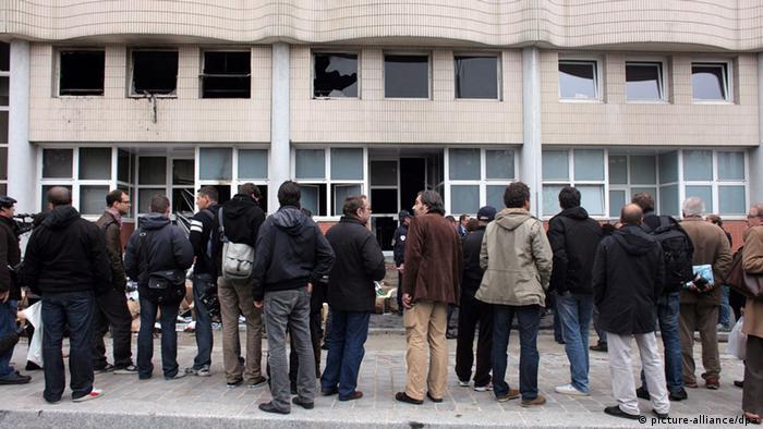 Здание редакции Charlie Hebdo