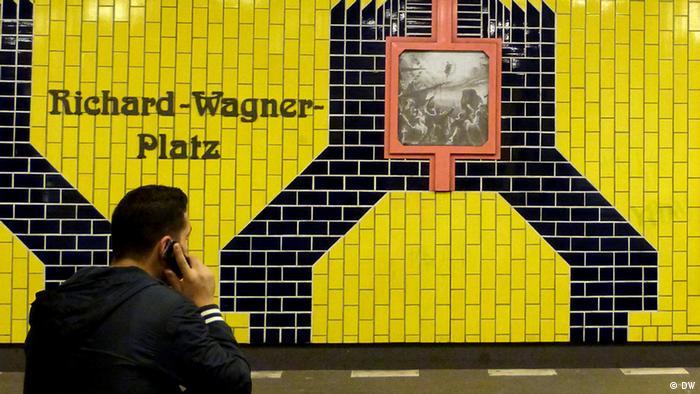 Richard Wagner Platz Berlin Deutschland U Bahn Wagner 200 +++ BITTE EINSCHRÄNKUNG BEACHTEN+++