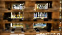 Employees close the liquors department, lihoviny in Czech, in Makro hypermarket in Ostrava late Friday, Sept. 14, 2012. The Czech authorities took an unprecedented emergency measure today and banned the sale of spirits with more than 20 percent alcohol content as it battles a wave of methanol poisonings that has already killed 19 people. (CTK Photo/Jaroslav Ozana)