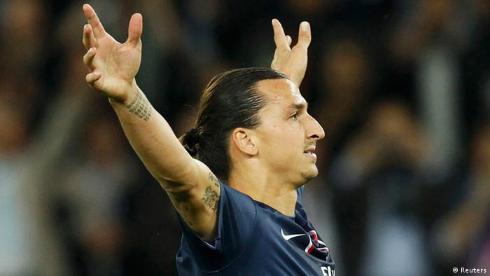Fussball Paris St Germain - Zlatan Ibrahimovic