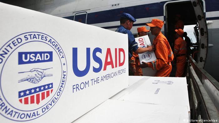 Логотип Агентства США по международному развитию USAID