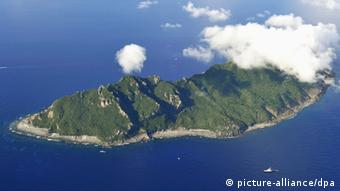 One of the Senkaku islands (Kyodo/MAXPPP - 02/09/2012 ; NAHA, Japan)