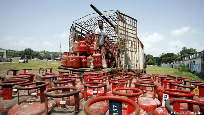 Bhopal Indien Gas (picture-alliance/dpa)