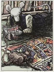 Zeichnung von Art Spiegelman (Foto: Wallraf Richartz Museum)