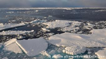 Schmelzendes Eis in der Arktik