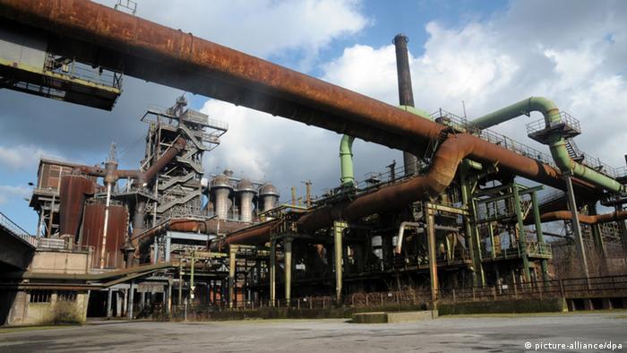 Индустриальный парк в Дуйсбурге - одна из площадок фестиваля