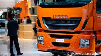 Грузовик итальянской марки Iveco