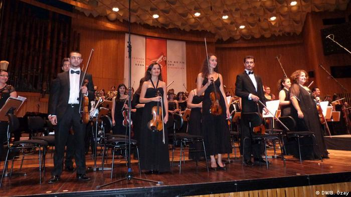 Das Turkish National Youth Philharmonic Orchestra beim Beethovenfest 2012