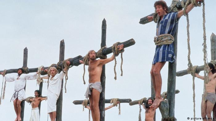 A still from the Life of Brian film