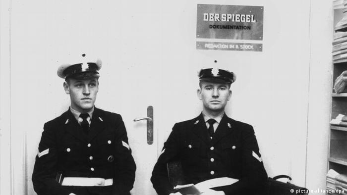 Spiegel Affäre Polizei Redaktion Besetzung