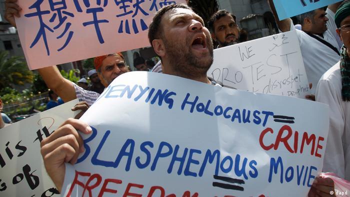prosvjedi zbog smrtne kazne za blasfemiju