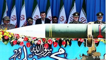 Major military parade in Iran Source: FARS