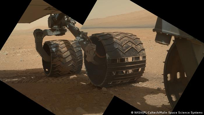 Curiositys Reifen. Image Credit: NASA/JPL-Caltech/Malin Space Science Systems