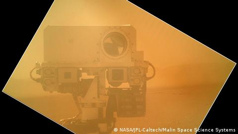 Ein Selbstporträt des Marsroboters Curiosity. Image credit: NASA/JPL-Caltech/Malin Space Science Systems