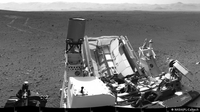 Der Marsproboter Curiosity. Image credit: NASA/JPL-Caltech