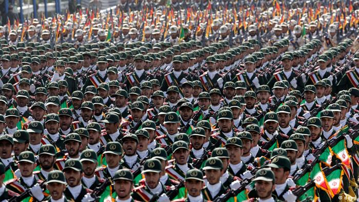 Iran Truppe Militär Parade Revolutionsgardisten Militärparade Tehran (dapd)