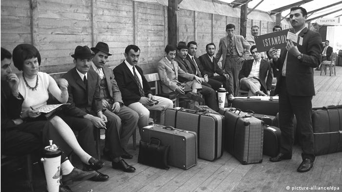 İş Gücü Anlaşması'ndan sonra Almanya'ya gelen Türkler