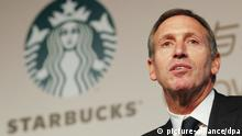 Starbucks Howard Schultz
