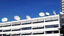 Satellitenschüsseln Deutsche Welle
