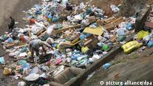 Müllhalde in Rio de Janeiro, Brasilien