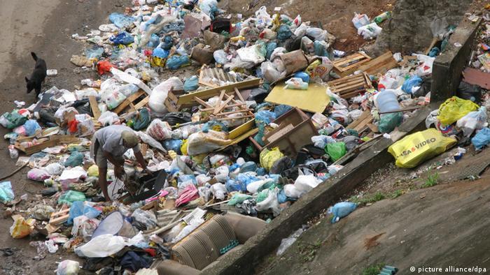 Lixão no Rio de Janeiro