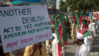 People rally in Islamabad, Pakistan, Friday, Sept. 21, 2012. (AP Photo/B.K. Bangash)