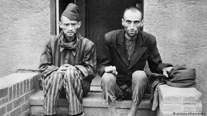 Preživeli iz logora Mitelbau-Dora