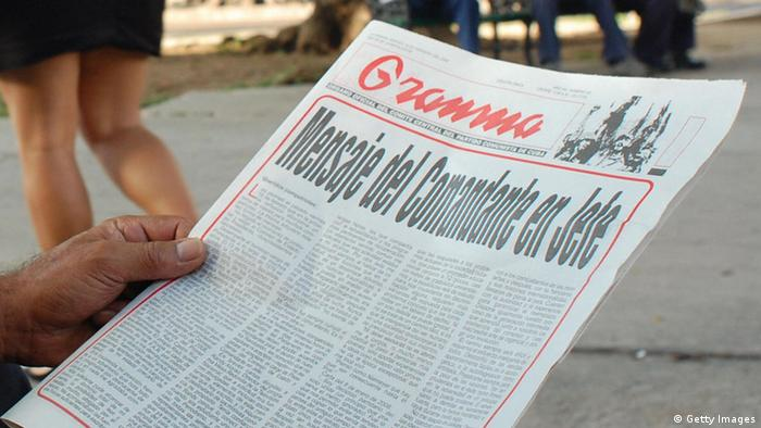 El periódico del partido Grandma.