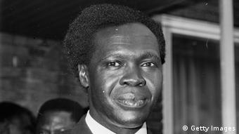 Dr Milton Obote, prime minister and later president of Uganda (Photo by Michael Stroud/Express/Getty Images)