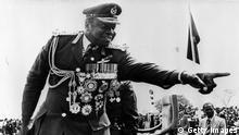 Idi Amin<br /> Photo by Keystone/Getty Images