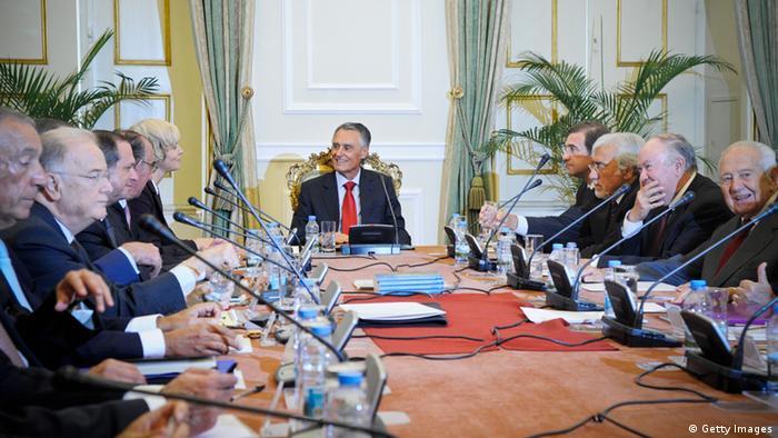 Presidente Cavaco Silva reunido com o Conselho de Estado