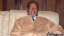 20 Jahre Frieden in Mosambik Joaquim Chissano