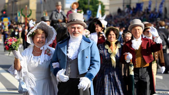Участники торжественного шествия