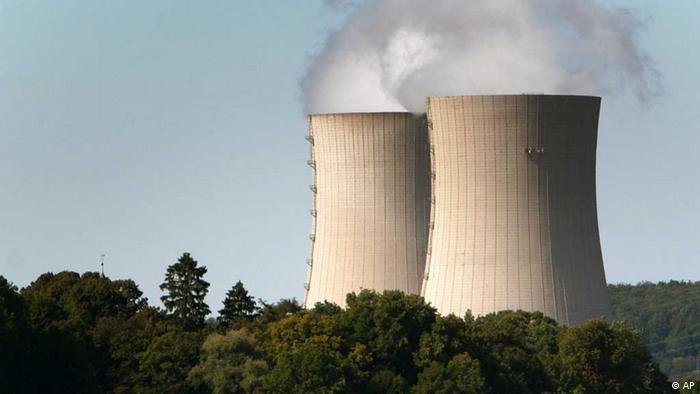 A German nuclear power plant in Grohnde Copyright: Focke Strangmann/AP Photo