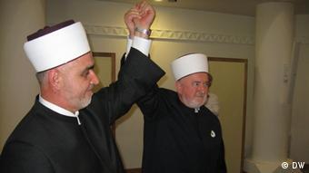 Hussein Kavazovic (left) and Mustafa Ceric (Sarajevo, 23.9.2012)