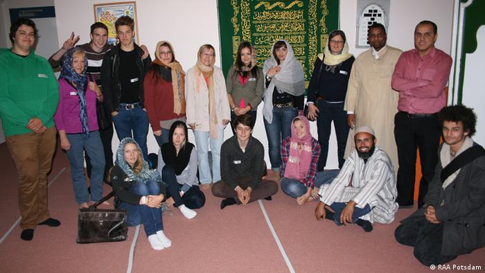 Schülerkonferenz Potsdam 2012 im Rahmen der Interkulturellen Woche (Foto: RAA Potsdam)