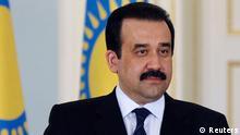 Karim Masimov Premierminister Kasachstan Archivbild